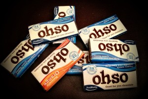 OHSO (yummy) chocolate AND good for you!