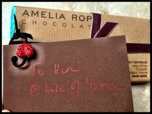 Amelia Rope's pale hazelnut & sea salt addressed to Him @ Life of Yablon (lucky Him)
