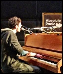 the multi-talented George Barnett at Abbey Road Studios