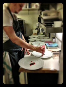 the art studio/kitchen @roganic