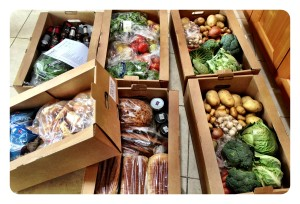 Foodari delivered local produce