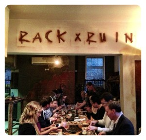 Rack & Ruin at Kitchen Party