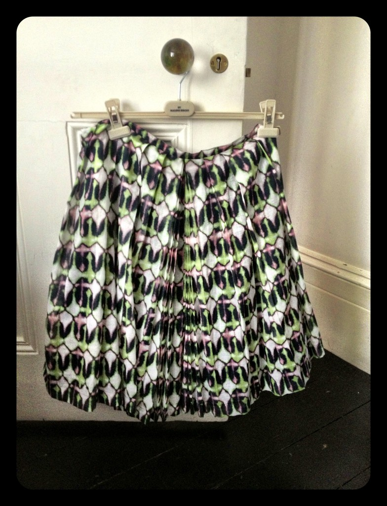 stunningly wide 50s skirt