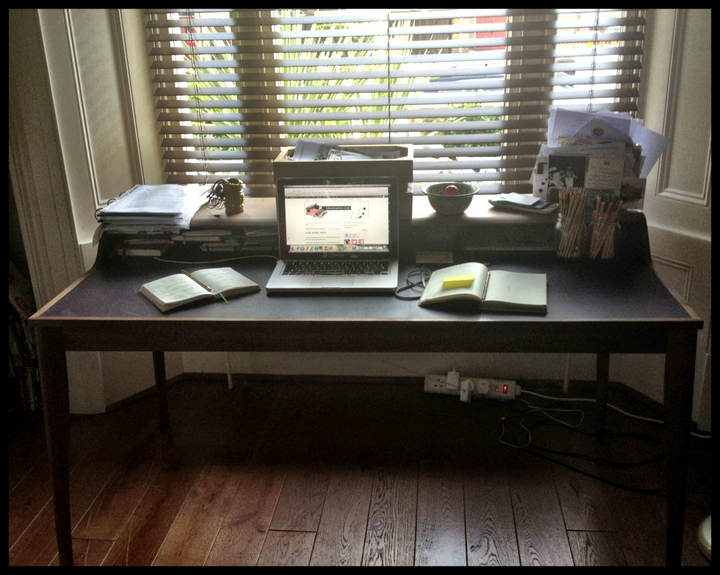 leaving behind my freelance desk