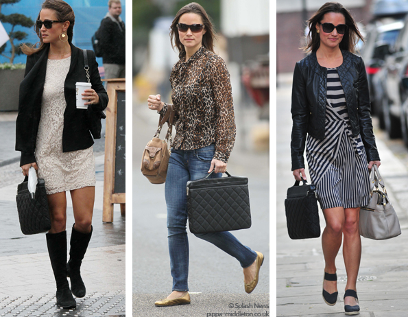 Pippa Middleton And Her Knomo Bag