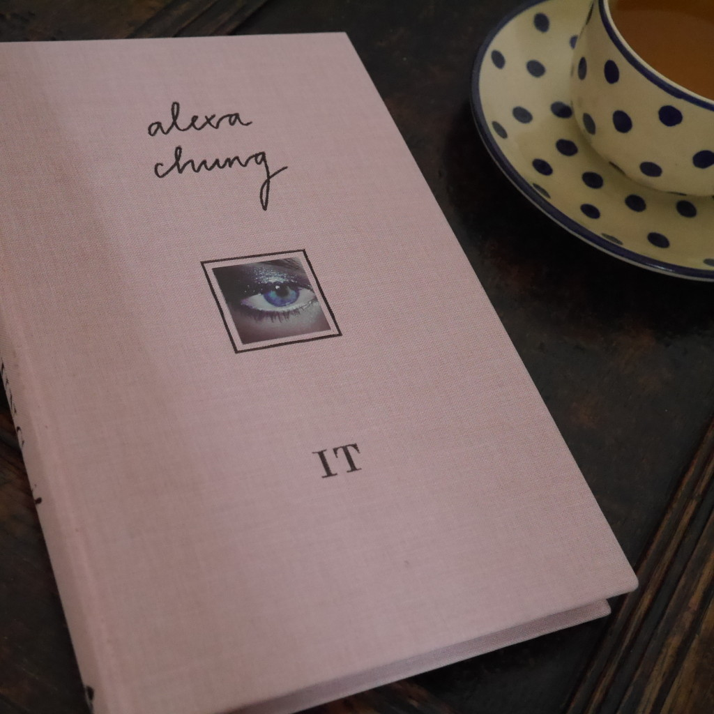 Alexa Chung's book IT and my cup of green tea