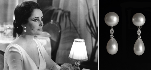 those Elizabeth Taylor earrings