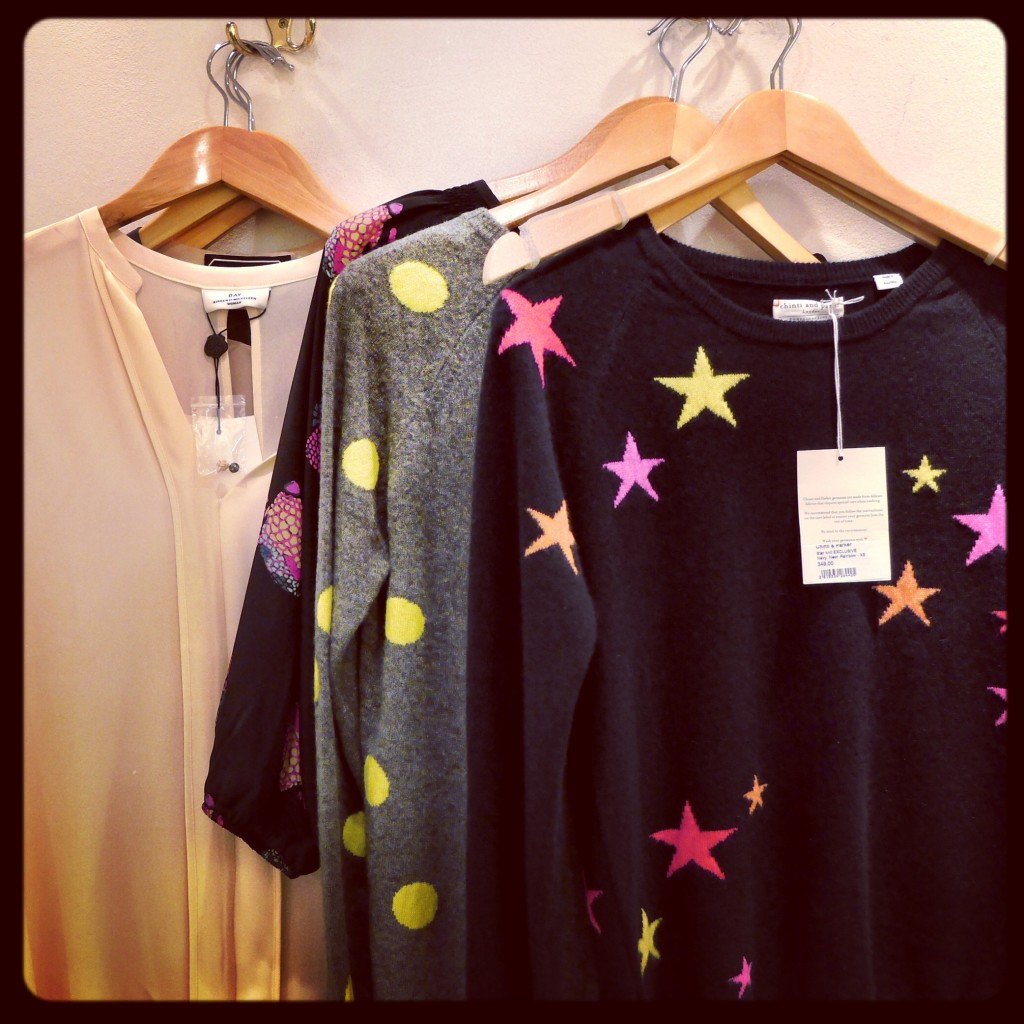 a Chinti & Parker jumper (exclusive to Anna) called Stars £305
