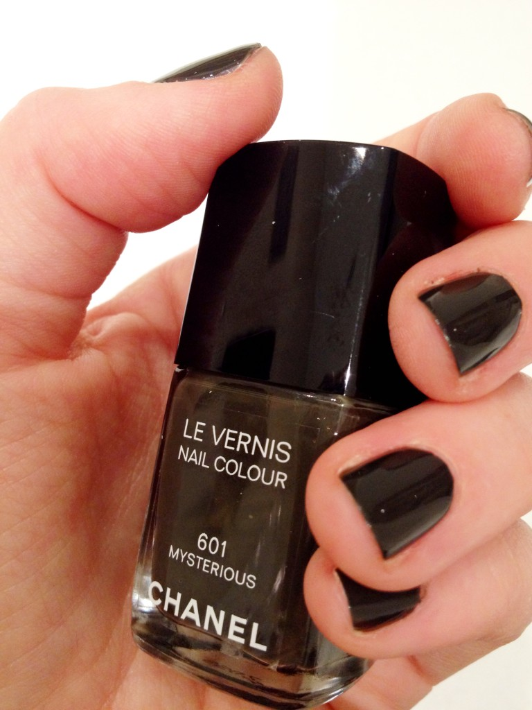 Chanel's le Vernis in Mysterious £18 (020 7493 3836)