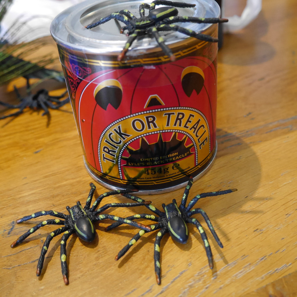 Lyle's vintage style, limited edition Trick or Treacle Tin which is perfect for getting into baking this Halloween! 88p per tin