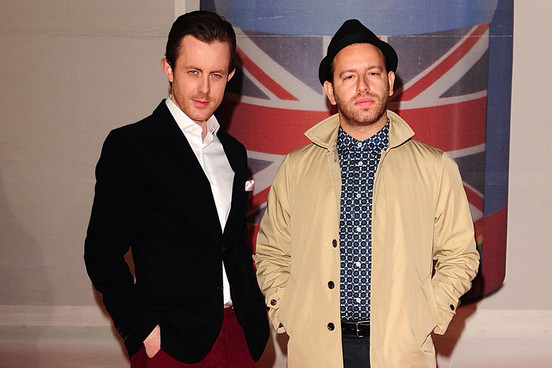 Chase and Status at the Brit Awards