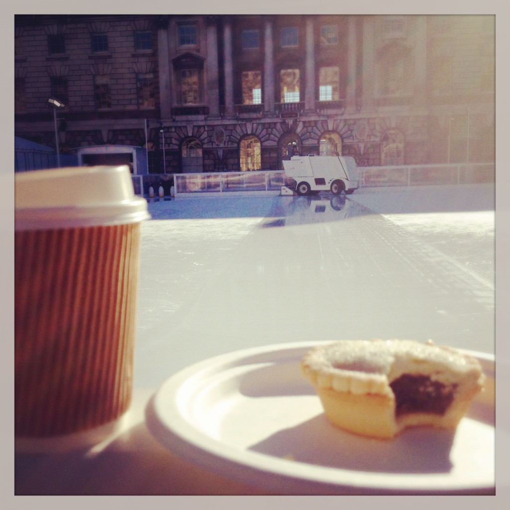 first mince pie of the season (never too early!)