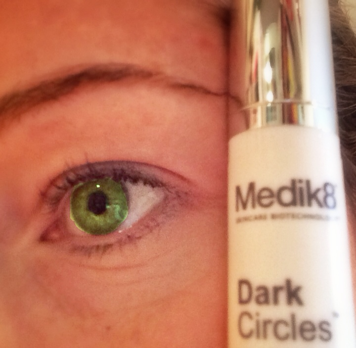 a tube of Medik8 Dark Circles formula