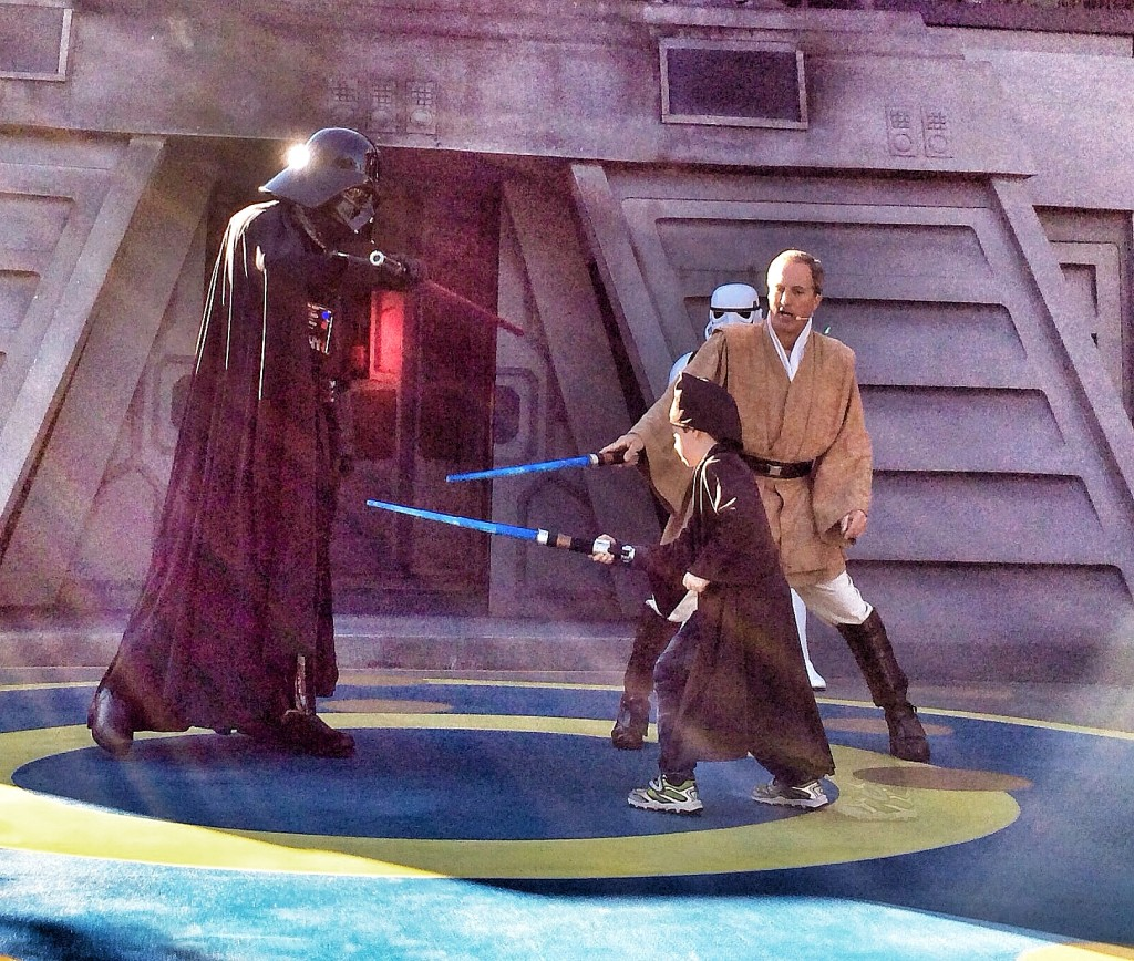 Small is Jedi trained at Disney's Hollywood Studios