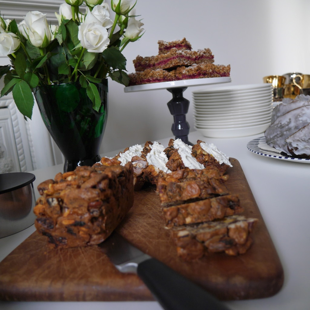 Fruit and Nut Bread with Nut Knowle Farm Goats Cheese