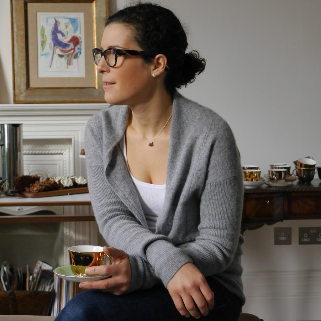 Foodie Friend (Hanna Geller Goldsmith) at the Book Bash