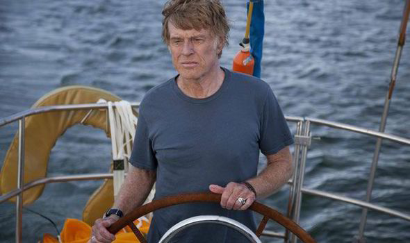 Robert Redford motors on