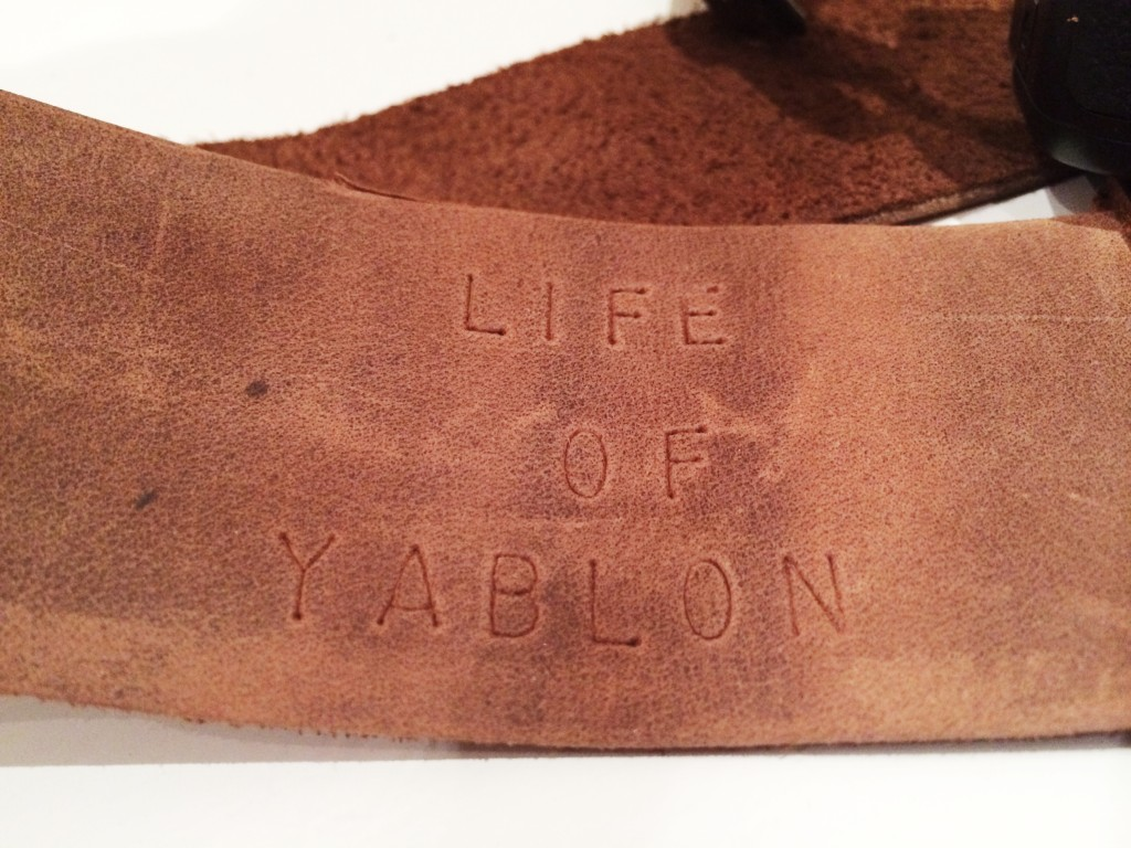 personalised with Life of Yablon