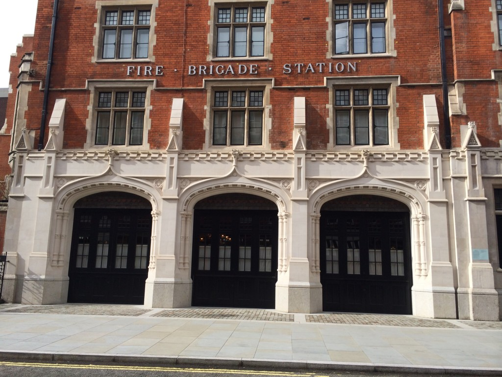 Chiltern Firehouse on Chiltern St, W1