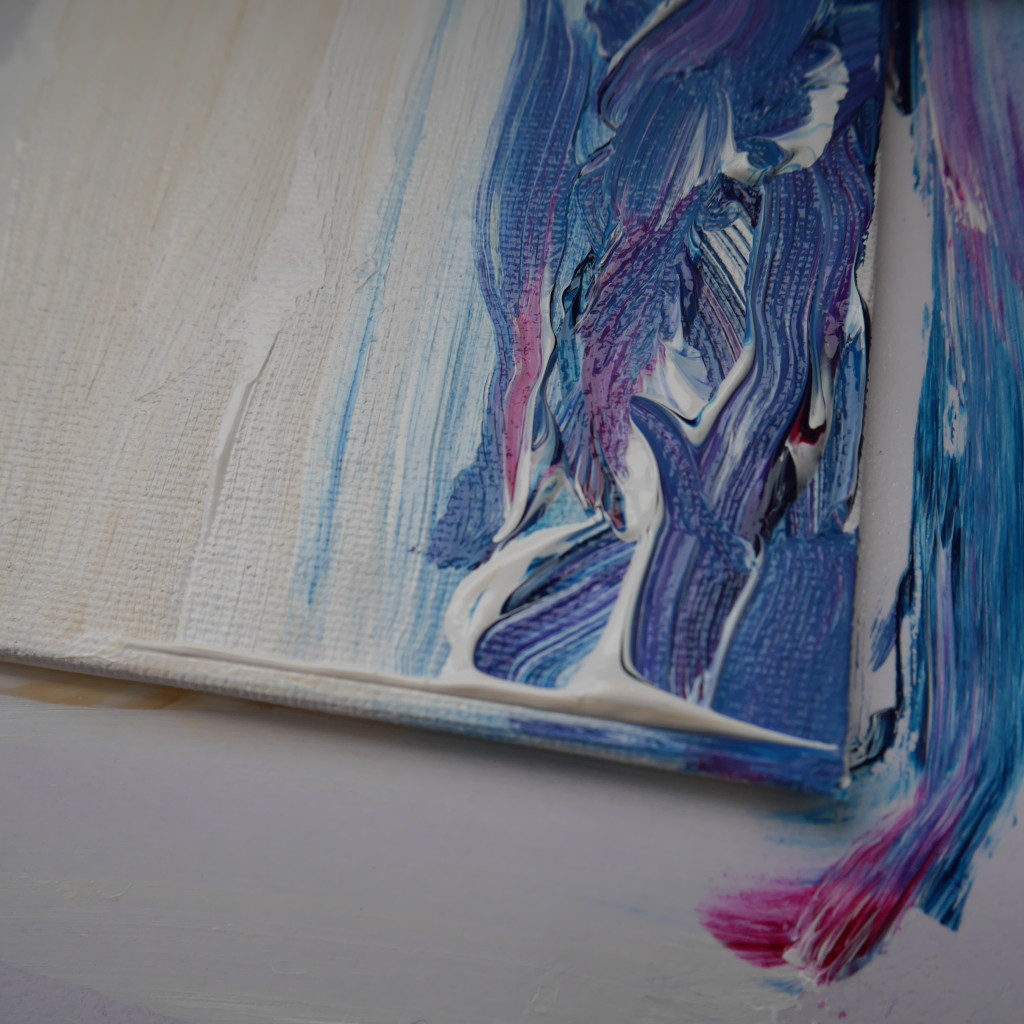 one of the small's sea landscape painting  -ACRYLIC ON CANVAS