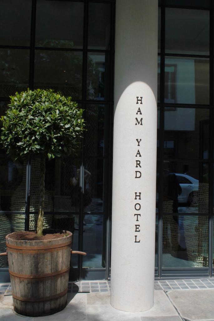 Ham Yard Hotel, Soho