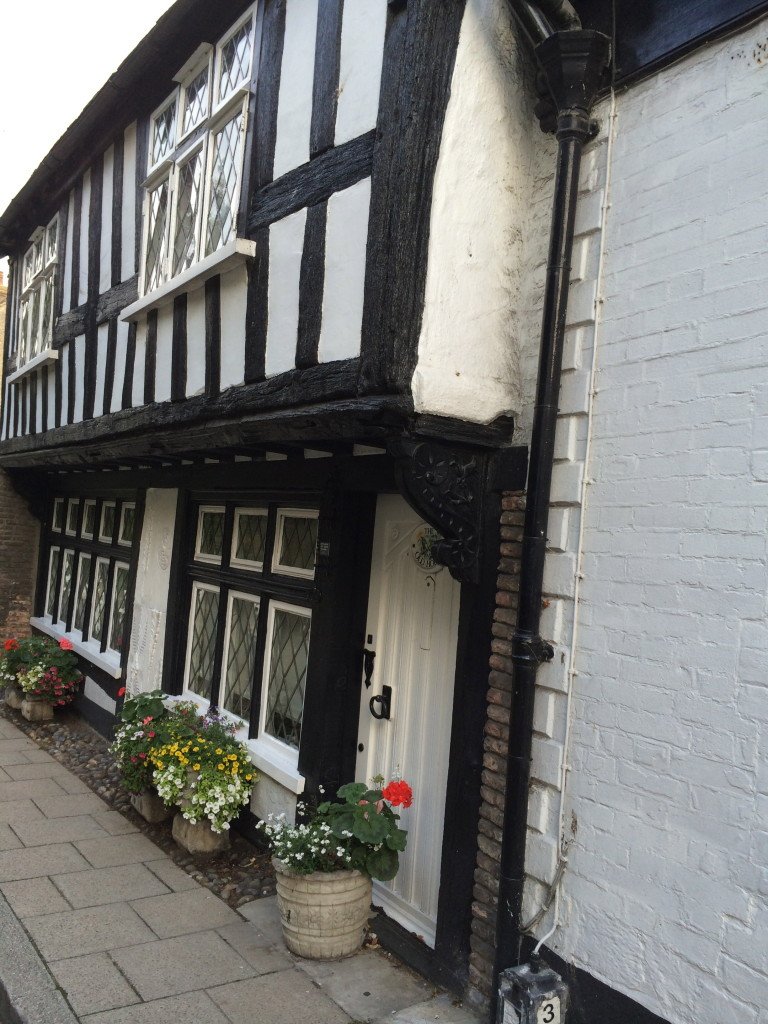 exploring the Tudor streets of Rye