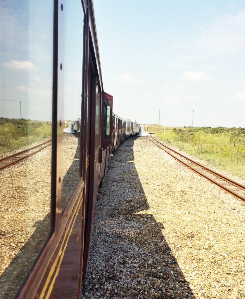 1920s steam train Dungeness