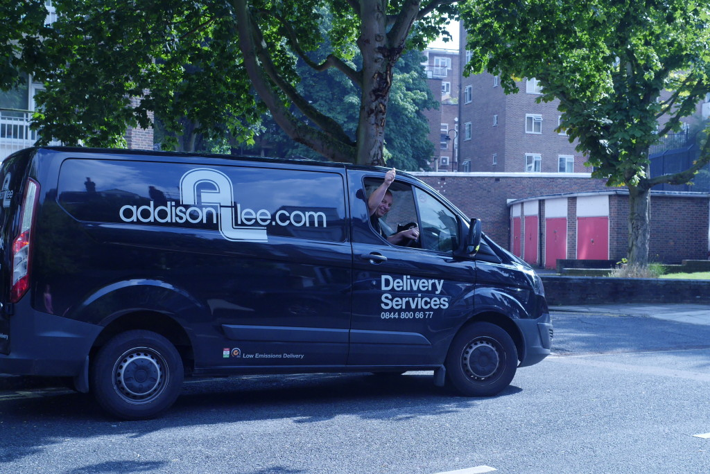 addison lee delivery service