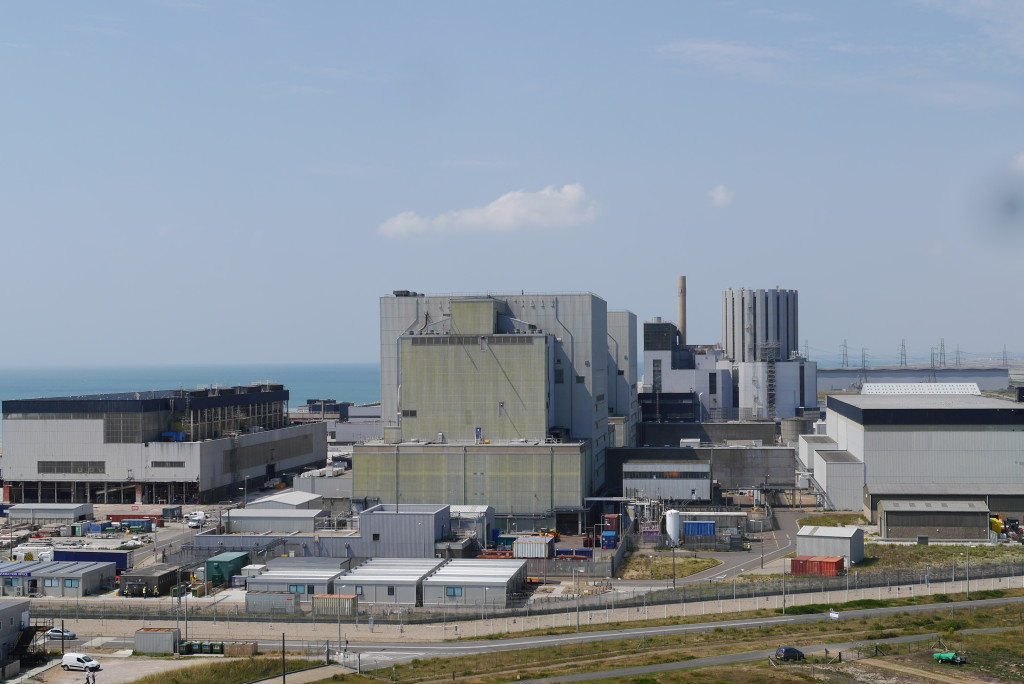 Dungeness power stations