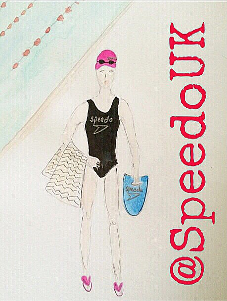 my Speedo illustration