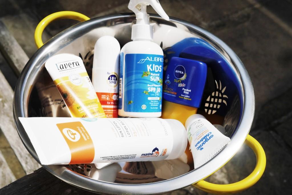 high factor sun cream for kids