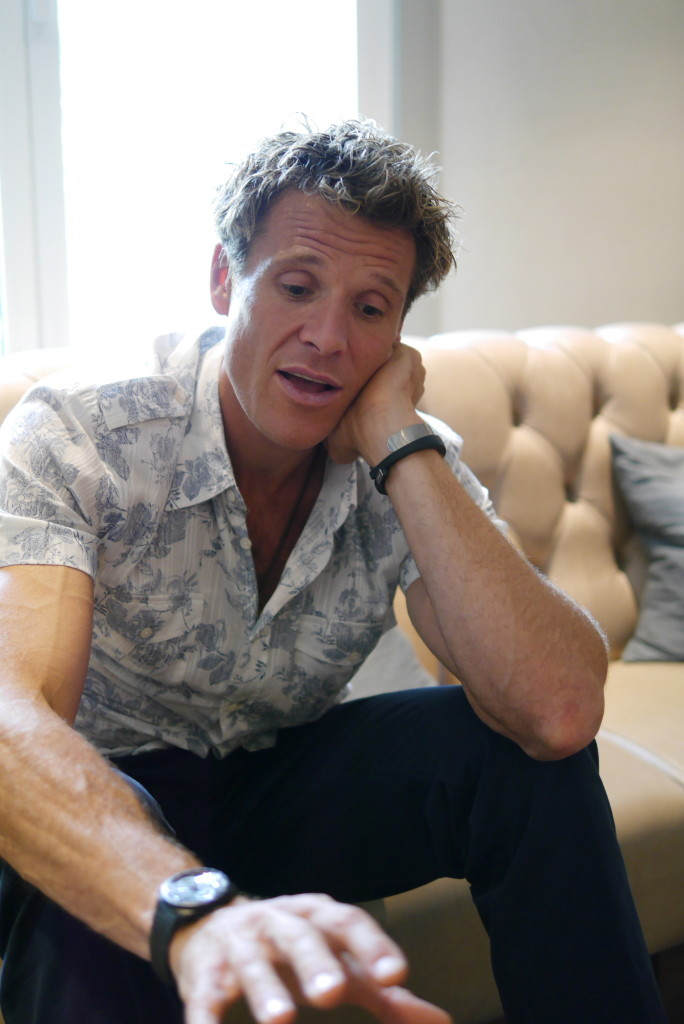 James Cracknell talks about being a Dad