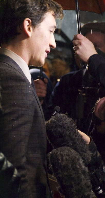 Miles Teller at Whiplash London film premiere