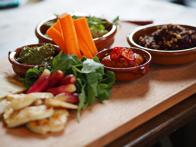 Friend's mezze lunch