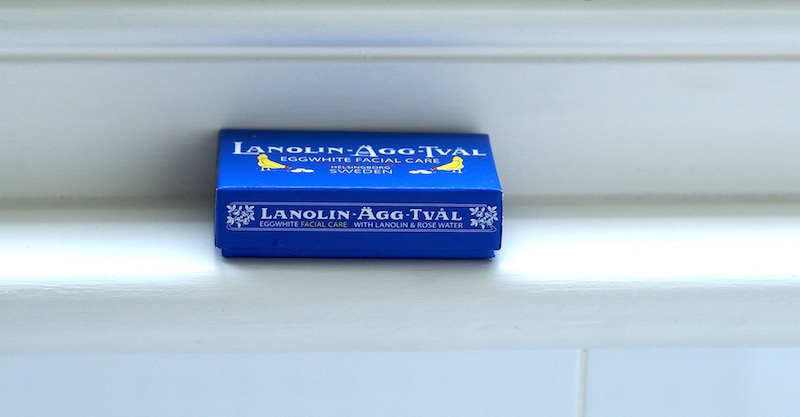 Lanolin-Agg-Tval Swedish Eggwhite Soap
